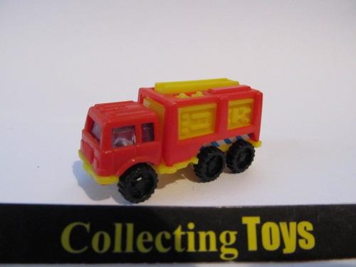 kinder ovo- caminhão de bombeiro- ( 93 k  nº 81) - (l 168)