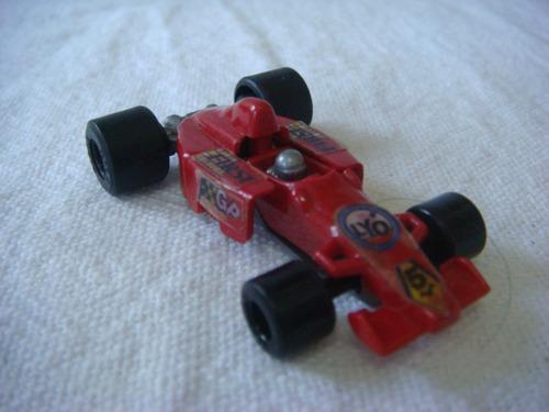 kinder ovo -carro de corrida vermelho  - (j264)