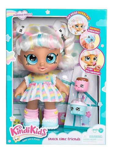 kindi kids muñeca marsha mello interactiva shopkins original