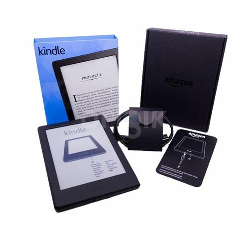 kindle, 6 glare-free negro touchscreen display, wi-fi