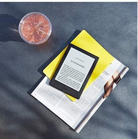 kindle 8va generación 2016,pantalla e-ink,sin reflejo wi-fi.