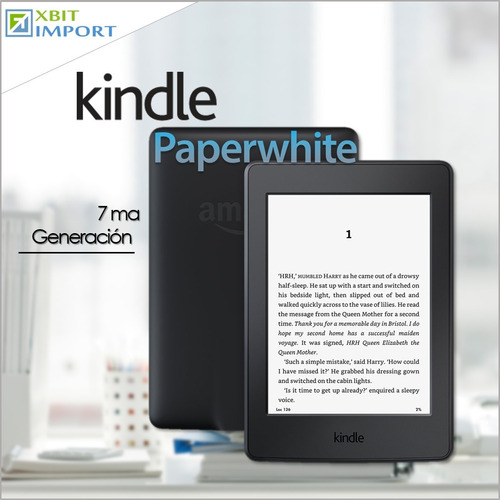 kindle paperwhite 7ma generación 300 ppi + dvd 3000 obras