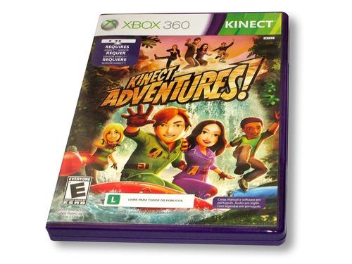 kinect adventures juego xbox 360 / nuevo / abierto ensayado
