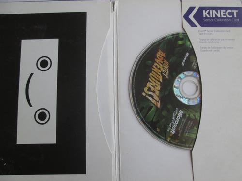 kinect adventures para xbox 360 caja carton en español