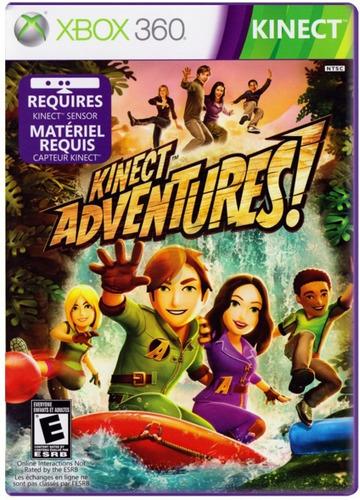 kinect adventures x box 360 formato fisico liquidacion!!