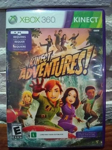 kinect adventures - xbox 360 / seminuevo.