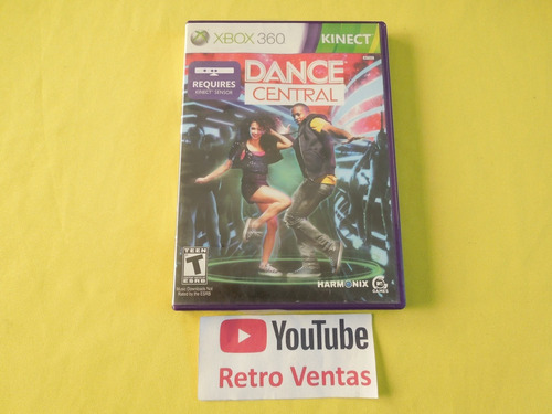 kinect dance central xbox 360 ** 1-2 players **
