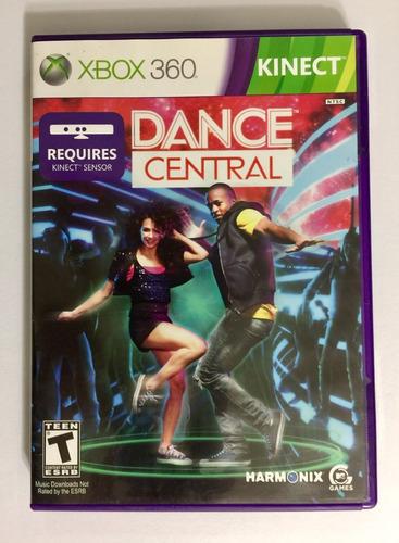 kinect dance central xbox 360 con portada manual envío grati