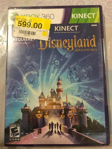 kinect disneyland adventures xbox 360 nuevo