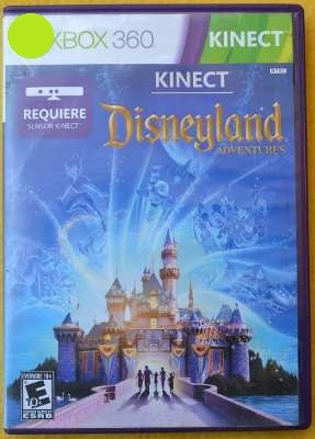 kinect disneyland adventures xbox 360* play magic