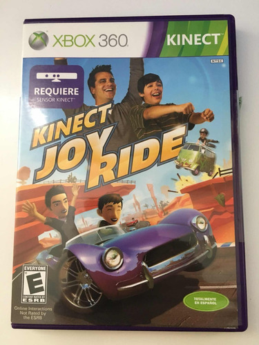 kinect joy ride xbox 360 videojuego