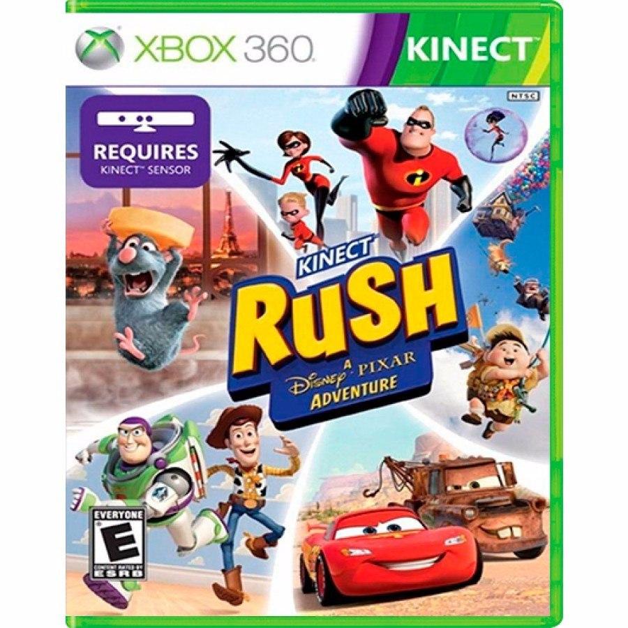 Kinect Rush Una Aventura Disney Para Xbox 360 Juego Nuevo S 130