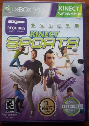 kinect sports 1 - fisico   / xbox 360 - live