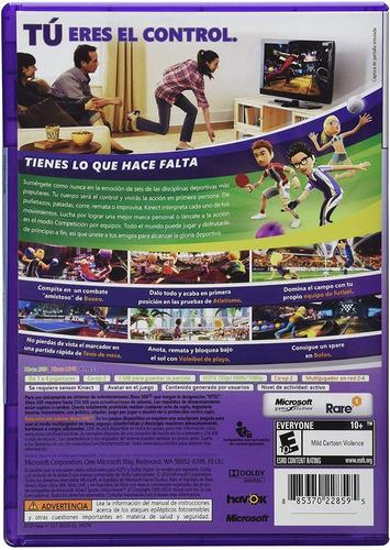 kinect sports 1 nuevo  en español ( en d3 gamers)