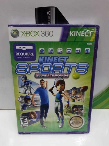 kinect sports 2 xbox 360 nuevo original