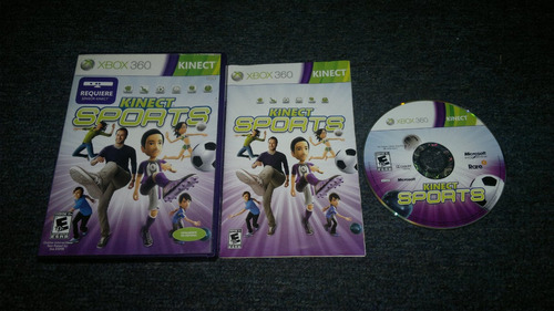 kinect sports completo para xbox 360,excelente titulo.