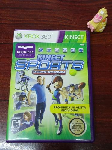 kinect sports segunda temporada xbox 360 garantizado!! :)
