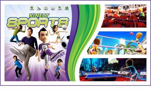 kinect sports videojuego seminuevo en excelente estado