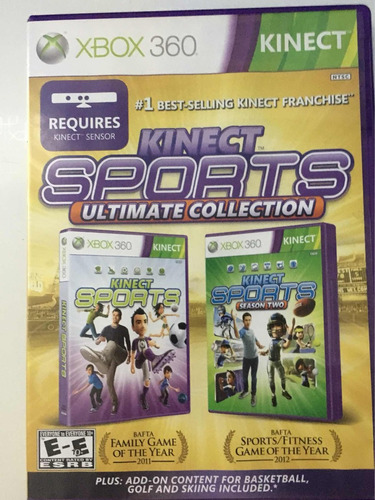 kinect sports xbox 360 videojuego