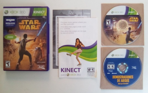kinect star wars xbox 360 garantizado