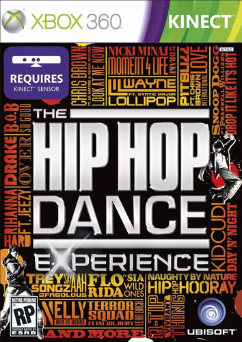 kinect the hip hop dance experience nuevo sellado xbox 360