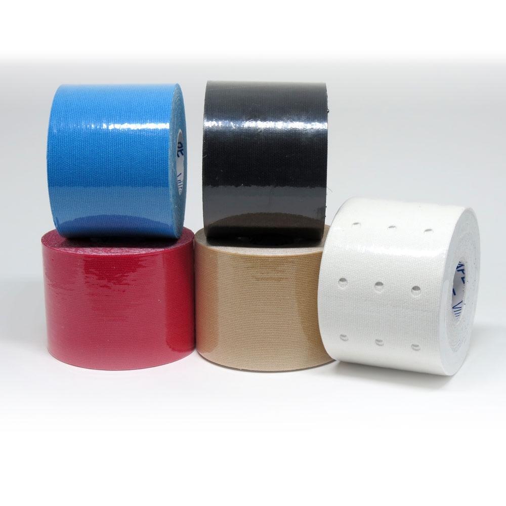 kinesio bandagem adesiva elástica vitaltape kinesiology azul. Carregando  zoom. 22320e950913c