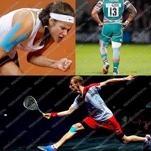 kinesio tape/ vendaje neuromuscular deportes colores