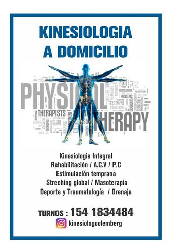 kinesiologo a domicilio y rehabilitacion (kinesiologia)