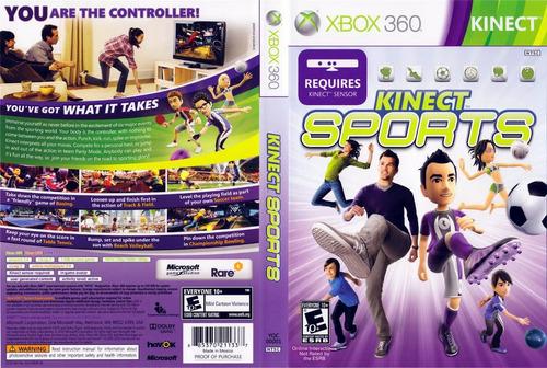 kinetc sports videojuego  xbox 360 seminuevo excelent estado