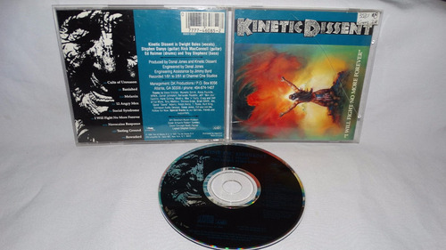 kinetic dissent - i will fight no more forever ( eldritch ri