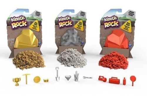 kinetic sand rock masa arena roca no se pega original