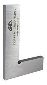 """Kinex 4033-02-010 Wide Flat Solid Machinist Square 4/"""" x 2.75/"""" DIN 875//0"""