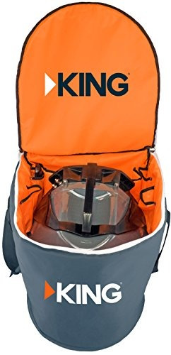 king cb1000 bolsa de transporte para antena satelital portá