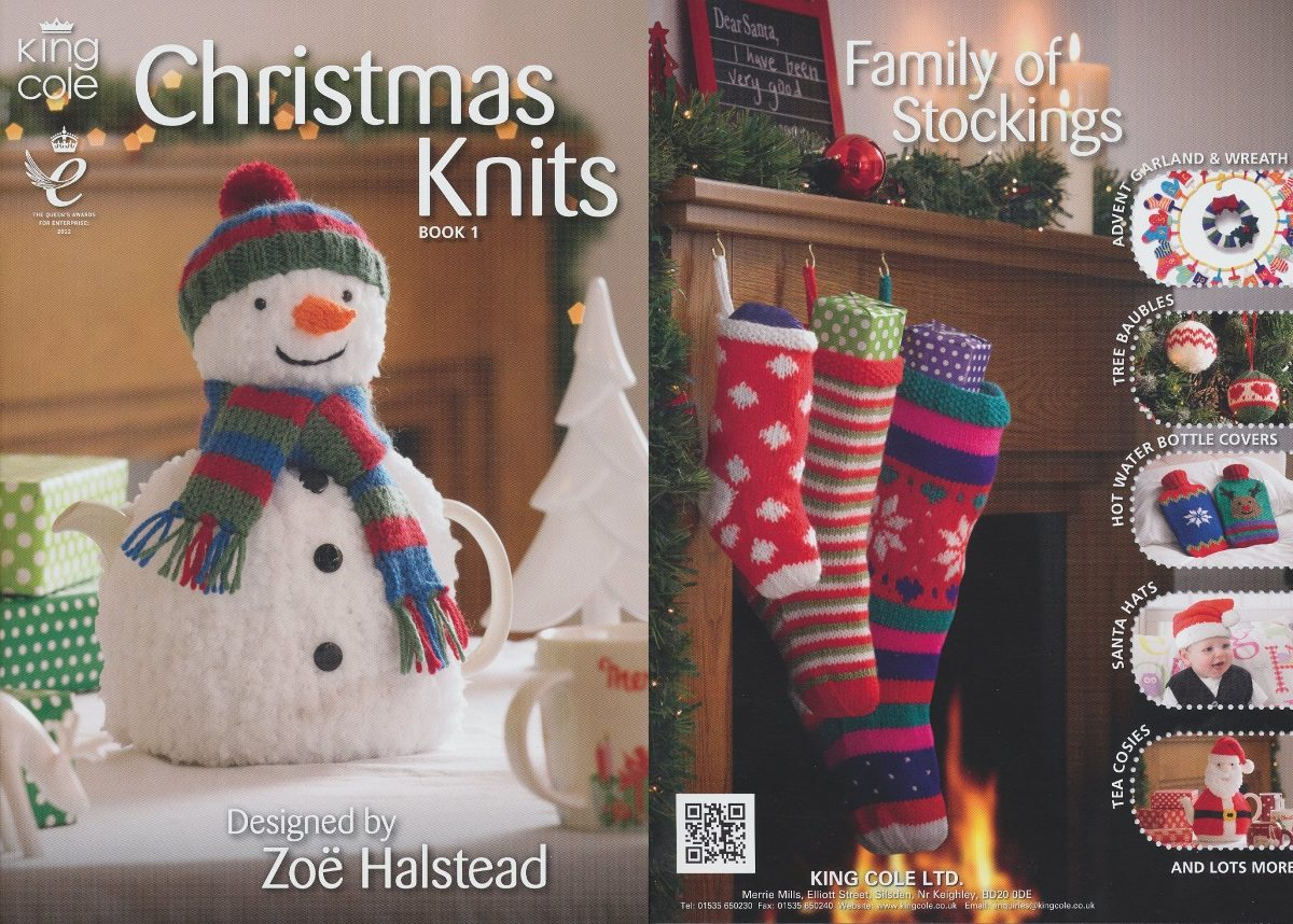 King Cole Christmas Knits Knitting Knit Patterns... - $ 1,020.00 en ...