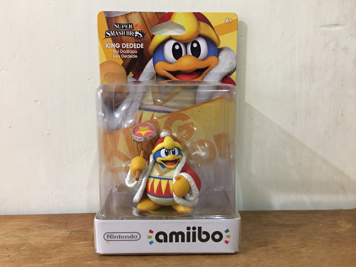 King Dedede Amiibo Super Smash Bros Nintendo Americano Nuevo