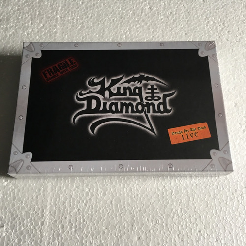 king diamond box songs for the dead live box bluray cd dvd
