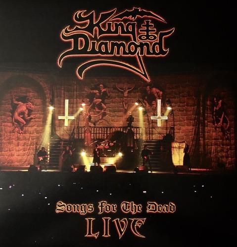king diamond - songs for the dead live - 2 dvd + 1 cd