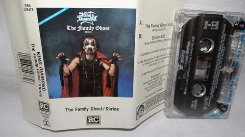 king diamond - the family ghost (rc 125476 chromo) (carcasa: