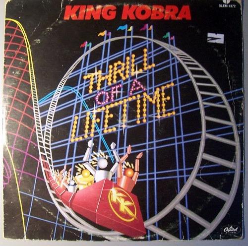 king kobra - thrill of a lifetime / lp record