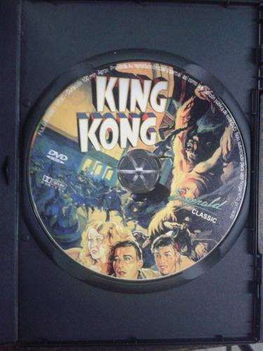 king kong (1933) * dvd original *