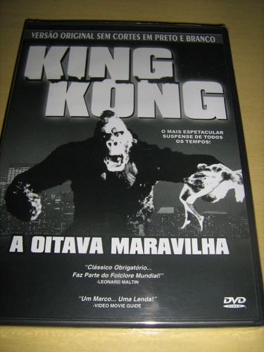 king konga a oitava maravlinha dvd raro em preto e branco