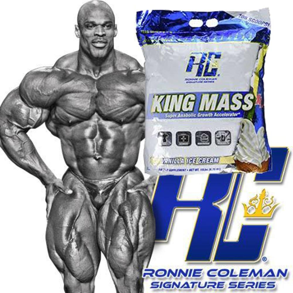 King Mass XL by Ronnie Coleman at Zumub Source · king mass 15 lbs whey protein