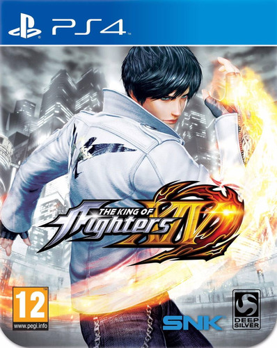 king of fighter 14 ps4 juego sellado original