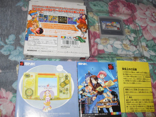 king of fighters battle paradise para neo geo pocket color