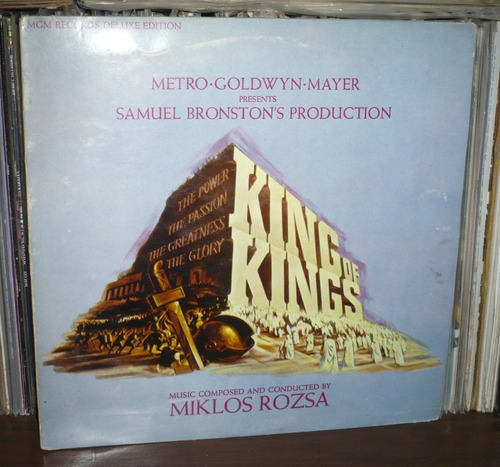 king of kings lp soundtrack miklos rozsa