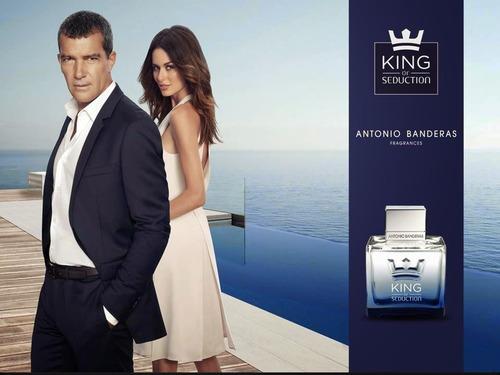 king of seduction de antonio banderas 50ml edt para hombre
