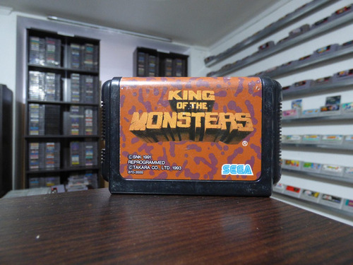 king of the monsters sega megadrive japon zonagamz