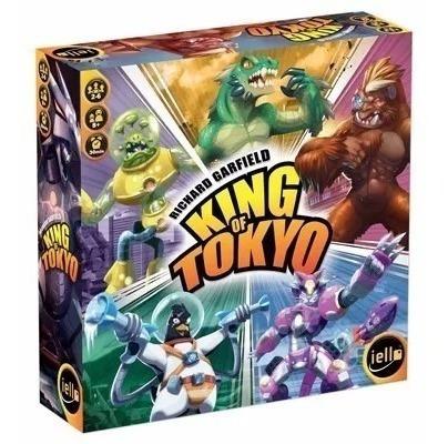 king of tokyo (2a ed) jogo tabuleiro galápagos em português