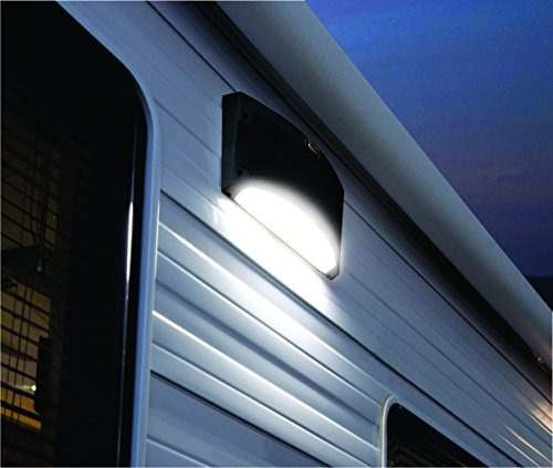 king rvm1001 altavoz bluetooth exterior con luz led blanco -