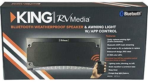 king rvm2001 altavoz exterior bluetooth de alta calidad con